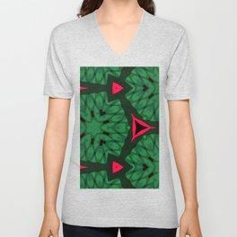 Christmas Color Pattern Unisex V-Neck