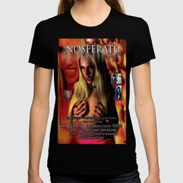 Nosferatu vs. Father Pipecock & Sister Funk (2014) -Movie Poster T-shirt