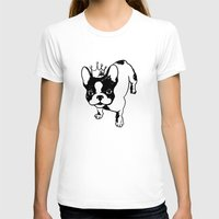 french bulldog T-shirts featuring French bulldog by Pendientera
