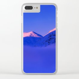 Chilly Peaks Clear iPhone Case