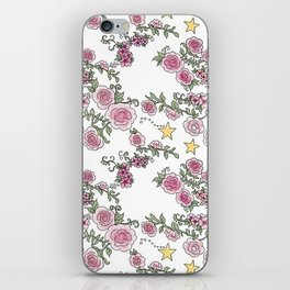 Project 52 | Pale Roses on White iPhone Skin