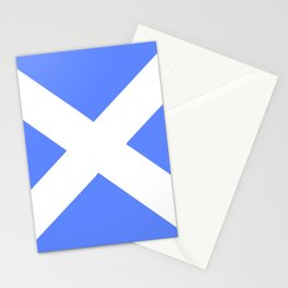 flag of scotland 5– scotland,scot,scottish,Glasgow,Edinburgh,Aberdeen,dundee,uk,cletic,celts,Gaelic Stationery Cards