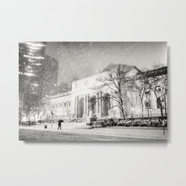 New York City Snow - 5th Avenue Metal Print