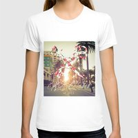 santa monica T-shirts featuring Santa Monica Blvd. by Kurt Schawacker