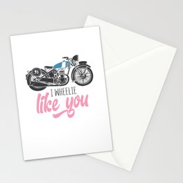 I Wheelie Like You Stationery Cards