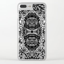 Aztec Clear iPhone Case