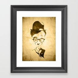 WOOLIE CHAPLEN Framed Art Print