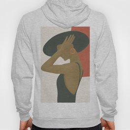 Lady in a Black Dress Hoody