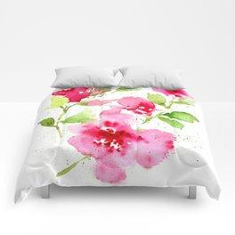 Floral 11 Comforters