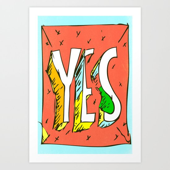 yes, is the way Art Print