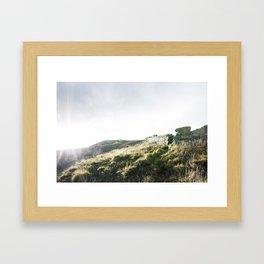Bray to Greystones Framed Art Print