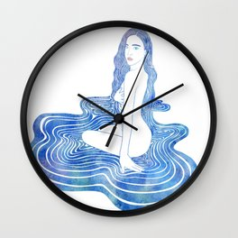 Water Nymph CII Wall Clock