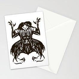 Shamanic travel (shaman walk) Stationery Cards
