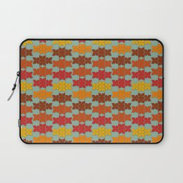 Retro Butterfly Print Laptop Sleeve