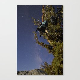 Undiscovered Backpackers Canvas Print