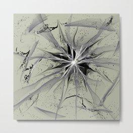 Cracked Childhood Metal Print