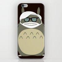 miyazaki iPhone & iPod Skins featuring Miyazaki Tribute by Kororo