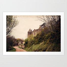 Brancion - French Medieval Chateau Art Print