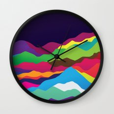 Mountains of Sand Wall Clock