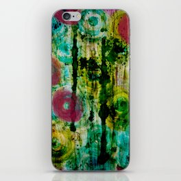 Spinning Wheels iPhone Skin
