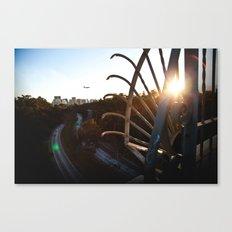 San Diego - Balboa Bridge  Canvas Print