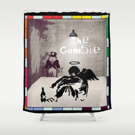 The Gamble Shower Curtain