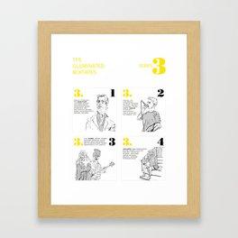 The Illuminated Mixtapes, Series 3 Framed Art Print