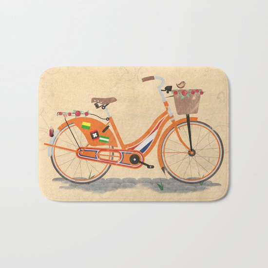 Love Holland, Love Bike Bath Mat