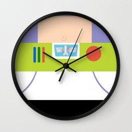 Buzz Lightyear Minimalist Wall Clock