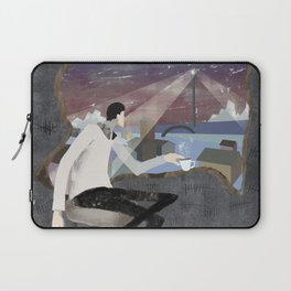 Caffee, Books and Solitude Laptop Sleeve