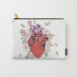 Anatomy of the heart Carry-All Pouch