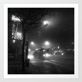 A Streetcar Named Noir Art Print