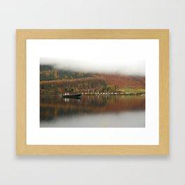 Safe harbor Framed Art Print