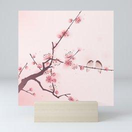 Oriental cherry blossom in spring 005 Mini Art Print