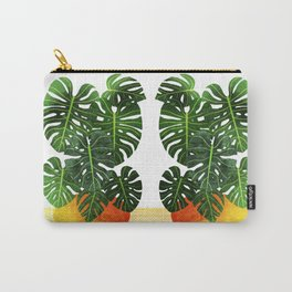 Swiss Cheese Plant Carry-All Pouch