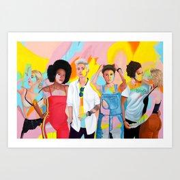 Womxn Art Print