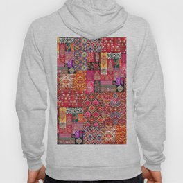 -A35- Traditional Colored Moroccan Artwork. Hoody