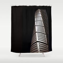 Turning Torso Shower Curtain