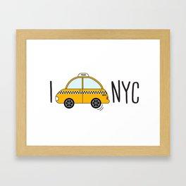 I love NYC Framed Art Print
