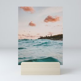 summer sunset iv Mini Art Print