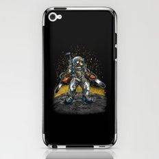 Texas Chainsaw Astronaut iPhone & iPod Skin