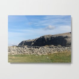 Rock and Land Metal Print