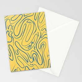 There's Always Gold Through Life's Pathways Stationery Cards