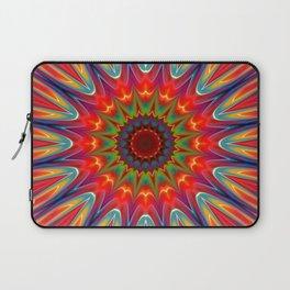Colors kaleidoscope pattern Laptop Sleeve