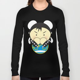Chun Li Long Sleeve T-shirt