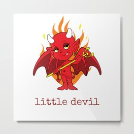 little devil Metal Print