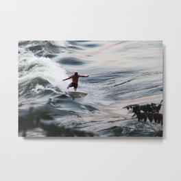 Surf Montreal Metal Print