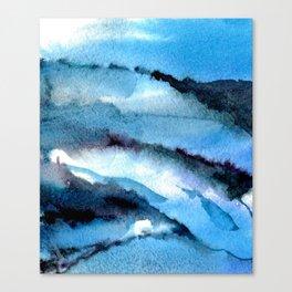 Blue marble. Canvas Print