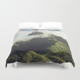 Marquesas Islands Of Mystery Duvet Cover