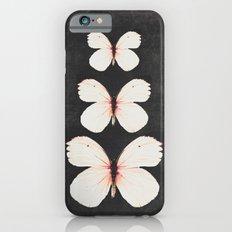 three pink butterflies iPhone 6s Slim Case